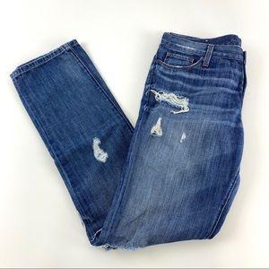 Banana Republic Skinny Distressed Straight LegJean